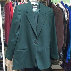 Jacket. 100% Wool.  Lined.